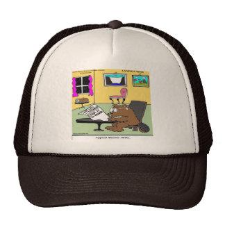 Beaver Living Wills Rick London Funny Cap