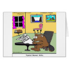 Beaver Living Wills Rick London Funny Card