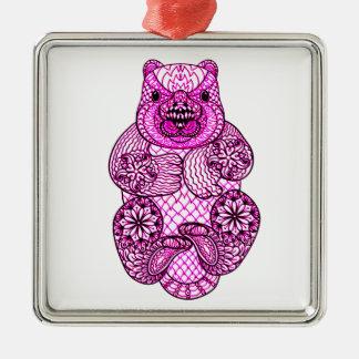 Beaver Metal Ornament