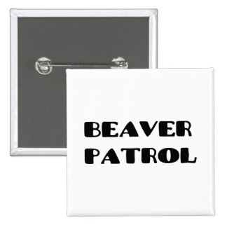 Beaver Patrol Buttons