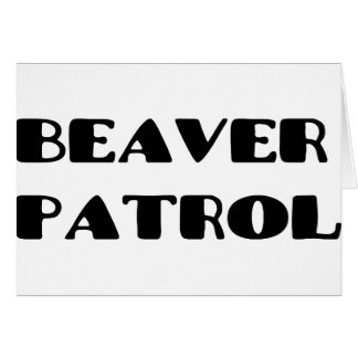 Beaver Patrol Card