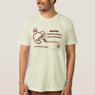 Beaver Restore Streams T-Shirt