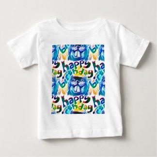 beaver say happy birthday baby T-Shirt