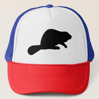 Beaver Silhouette Trucker Hat