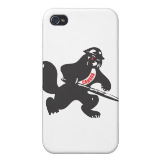 Beaver Soldier Cover For iPhone 4