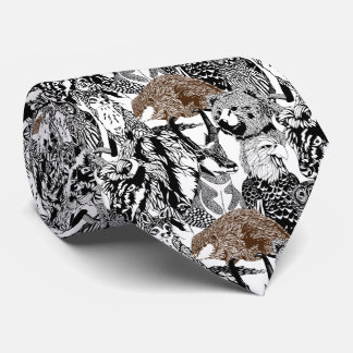 Beaver Stand-out Tie