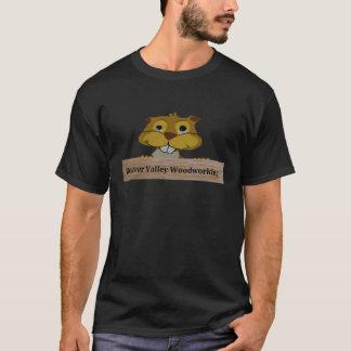 Beaver Valley Woodworking Logo Basic Dark T shirts