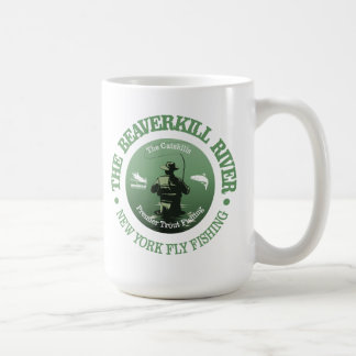 Beaverkill River (Fly Fishing) Coffee Mug
