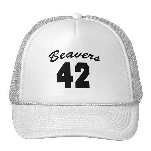 Beavers #42 trucker hat