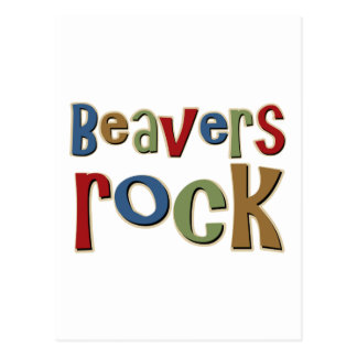 Beavers Rock Postcard