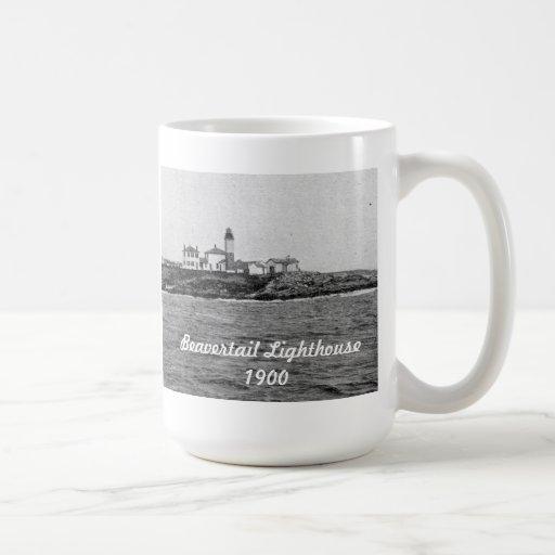 Beavertail Lighthouse - 1900  Mug