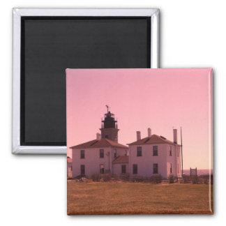 Beavertail Lighthouse magnet