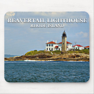 Beavertail Lighthouse, Rhode Island Mousepad
