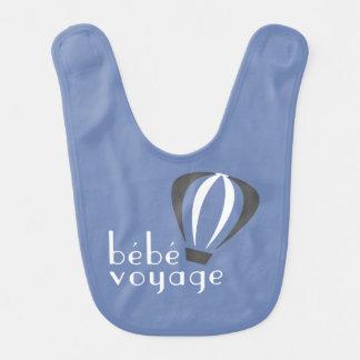 Bebe Voyage Logo Bib