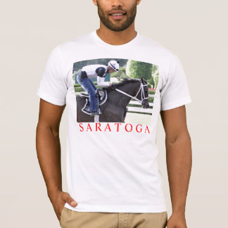 Bebo Morales training at Saratoga T-Shirt