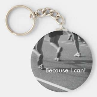 Because I can! Basic Round Button Key Ring