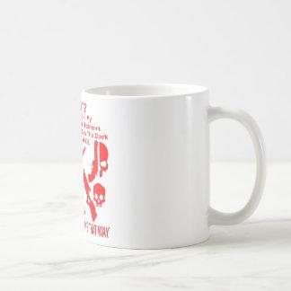 Because I Told My Family Nothing Be Afraid Of Coffee Mug