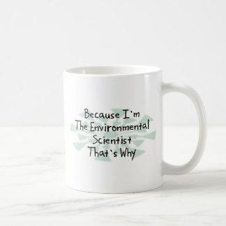 Because I'm the Environmental Scientist Coffee Mug