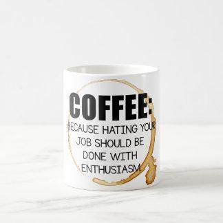 Because mornings, Mondays, and jobs suck.... Coffee Mug