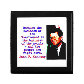 Because The Business - John Kennedy Gift Box
