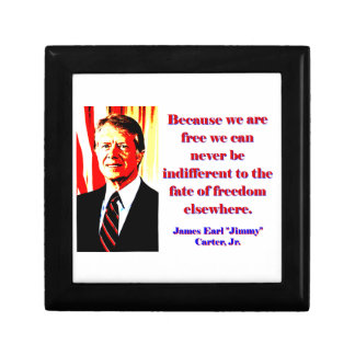Because We Are Free - Jimmy Carter Gift Box