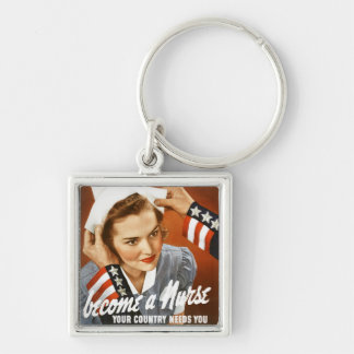 Become a nurse - keychain