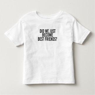 BECOME BEST FRIENDS? 1:2 TODDLER T-Shirt