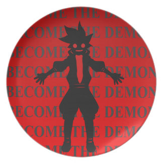 Become the demon plate