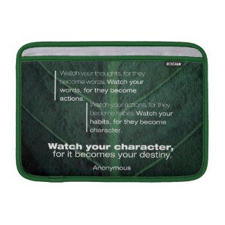 Becomes Your Destiny MacBook Sleeve