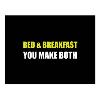 Bed And Breakfast Postcard