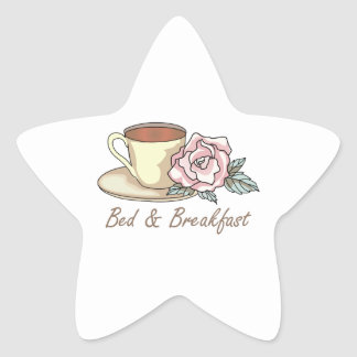 BED & BREAKFAST STAR STICKERS
