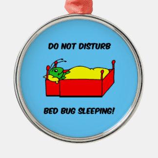 bed bug metal ornament