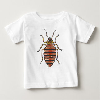 Bed Bug Sketch Baby T-Shirt