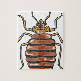 Bed Bug Sketch Jigsaw Puzzle