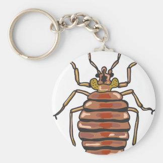 Bed Bug Sketch Key Ring