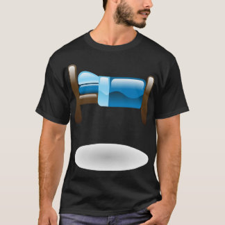 Bed Icon Mens T-Shirt