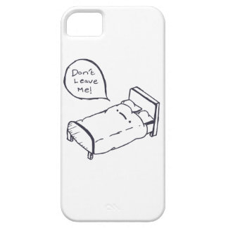 Bed Joke Shirt and Apparel iPhone 5 Cases