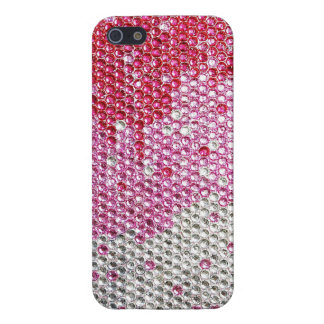 BEDAZZLED IN PINK Glossy Finish iPhone 5/5S Case