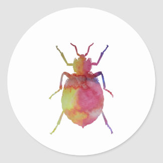 Bedbug Classic Round Sticker
