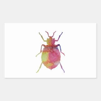 Bedbug Rectangular Sticker