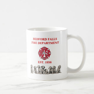 Bedford Falls Fire Department Mug - Customized