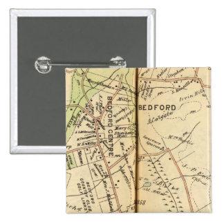 Bedford, New York 2 15 Cm Square Badge