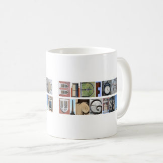 """Bedford Virginia"" Architectural Alphabet Mug"