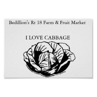 Bedillion's Farm Market Poster