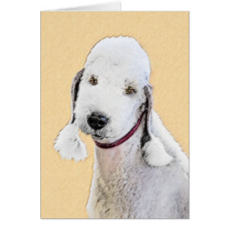 Bedlington Terrier 2 Card