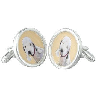 Bedlington Terrier 2 Cufflinks