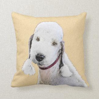 Bedlington Terrier 2 Cushion