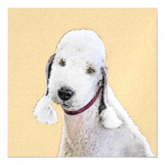 Bedlington Terrier 2 Magnetic Invitations