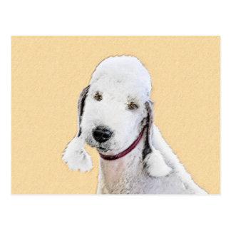 Bedlington Terrier 2 Postcard