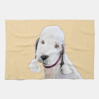 Bedlington Terrier 2 Tea Towel
